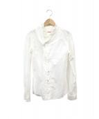 ()の古着「フリルシャツ」|ホワイト