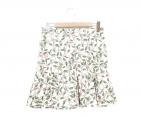 ()の古着「総柄マーメイドスカート」|グリーン