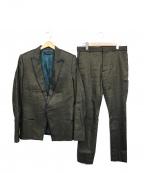 HAIDER ACKERMANN(ハイダーアッカーマン)の古着「リネンセットアップスーツ」 ブラウン