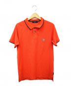 Paul Smith JEANS(ポールスミス ジーンズ)の古着「ポロシャツ」|オレンジ