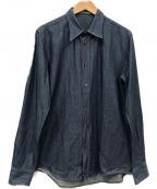 BOTTEGA VENETA()の古着「デニムシャツ」 ネイビー