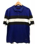()の古着「ポロシャツ」|ブルー