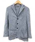 L.B.M.1911(ルビアム1911)の古着「リネン混3Bジャケット」|ブルー