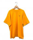 NIKE(ナイキ)の古着「ビッグシルエットTシャツ」|オレンジ