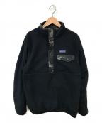 Patagonia()の古着「リバーシブルカモフラジャケット」|ブラック
