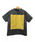 N°21(ヌメロヴェントゥーノ)の古着「半袖スウェット」|グレー