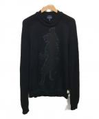 ARMANI JEANS(アルマーニジーンズ)の古着「ニット」|ブラック