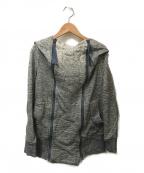 Vivienne Westwood ANGLOMANIA(ヴィヴィアンウエストウッド アングロマニア)の古着「フーデッドジャケット」|グレー