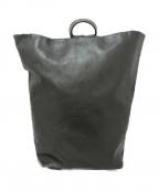 Aeta(アエタ)の古着「レザーバッグ」 ブラック