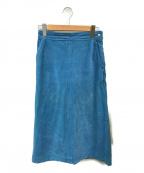 RHC Ron Herman(アールエイチシー ロンハーマン)の古着「コーデュロイスカート」|スカイブルー