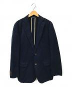 BROOKS BROTHERS(ブルックスブラザーズ)の古着「モールスキン2Bジャケット」|ネイビー