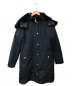 BLUE LABEL CRESTBRIDGE(ブルーレーベルクレストブリッジ)の古着「ライナー付フーデッドコート」|ネイビー