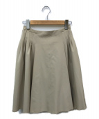 ()の古着「スカート」 カーキ