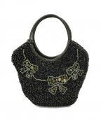 ANTEPRIMA(アンテプリマ)の古着「編込みバッグ」|ブラック