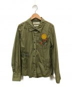 REMI RELIEF(レミレリーフ)の古着「ミリタリーシャツ」|オリーブ