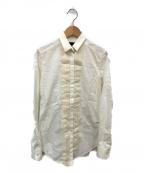 D&G(ドルチェ&ガッバーナ)の古着「フリルシャツ」|ホワイト