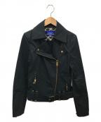 BURBERRY BLUE LABEL(バーバリーブルーレーベル)の古着「ジャケット」|ブラック