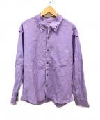 sulvam(サルバム)の古着「シャツ」|バイオレット