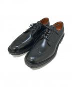 Alden(オールデン)の古着「ウィングチップシューズ」|ブラック