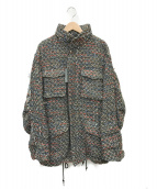 ()の古着「ツイードジャケット」|マルチカラー