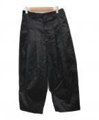 SHINYA KOZUKA(シンヤコズカ)の古着「BAGGY PANTS」|ブラック