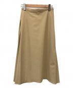 Demi-Luxe Beams(デミルクス ビームス)の古着「プリーツスカート」|ベージュ