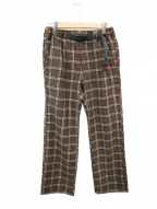 GRAMICCI(グラミチ)の古着「ウールパンツ」|ブラウン