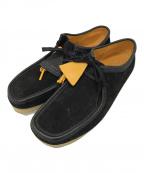 CLARKS(クラークス)の古着「ワラビーブーツ」|ブラック