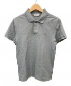 MONCLER(モンクレール)の古着「ポロシャツ」 ライトグレー