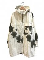 VINTAGE MILITARY(ヴィンテージ ミリタリー)の古着「[古着]ドイツ軍スノーカモパーカー」|ホワイト