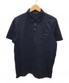PRADA(プラダ)の古着「ポロシャツ」 ネイビー