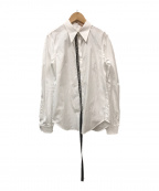 N°21(ヌメロヴェントゥーノ)の古着「バックジップシャツ」|ホワイト