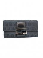 FENDI(フェンディ)の古着「長財布」|ブラック