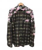 GIVENCHY(ジバンシィ)の古着「シャツ」|ブラック
