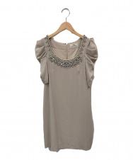GRACE CONTINENTAL (グレースコンチネンタル) ドレス ベージュ サイズ:36