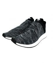 adidas(アディダス)の古着「スリッポン」|ブラック