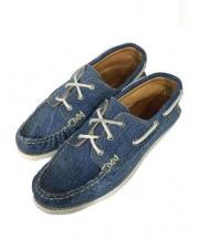 YUKETEN(ユケテン)の古着「Denim Boat Shoes」|インディゴ