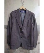 COMME des GARCONS JUNYAWATANABE MAN(コムデギャルソン ジュンヤワタナベマン)の古着「ノッチトラペルテーラードジャケット」|グレー