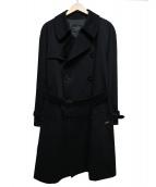 BEAMS Lights(ビームスライツ)の古着「トレンチコート」 ブラック