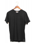 Yohji Yamamoto pour homme(ヨウジヤマモトプールオム)の古着「ダブルネームアニバーサリーTシャツ」|ブラック