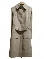 MACKINTOSH(マッキントッシュ)の古着「ゴム引きステンカラーコート」