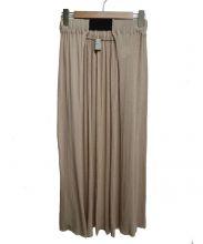 TAN(タン)の古着「前開きニットスカート」|ベージュ