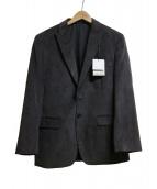 Calvin Klein(カルバンクライン)の古着「ピークトラペルテーラードジャケット」|グレー