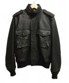 N.HOOLYWOOD(エヌハリウッド)の古着「レザージャケット」|ブラック
