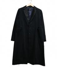 UNDER COVER(アンダーカバー)の古着「切替チェスターコート」|ブラック