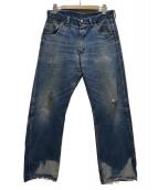 Wrangler(ラングラ)の古着「[古着]50sヴィンテージデニム」|インディゴ