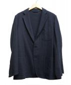 COMOLI(コモリ)の古着「ウールリネンジャケット」 ネイビー