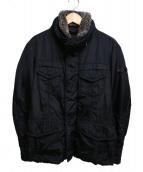 PEUTEREY(ピューテリー)の古着「ボア襟中綿ジャケット」|ブラック