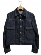 A.P.C(アーペーセー)の古着「リジットデニムジャケット」