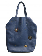 Bagolo(バゴロ)の古着「装飾レザーハンドバッグ」
